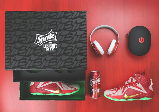 A Detailed Look At The Sprite LeBron's Mix Package
