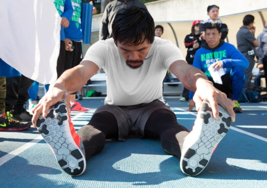 """Nike Shows Off Manny Pacquiao's Footwork and Hand Speed in Latest """"Inner Strength"""" Clip"""