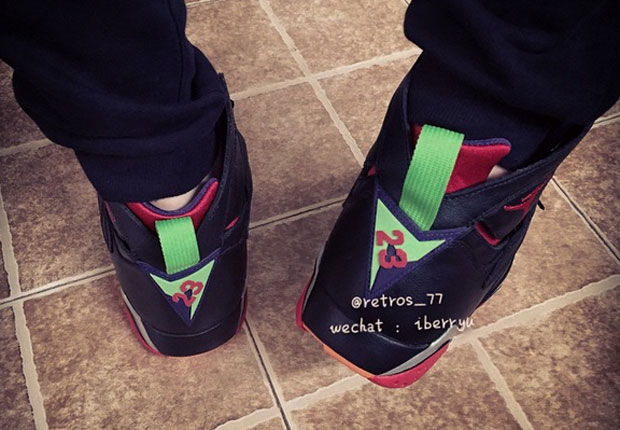 Air Jordan 7 Marvin The Martian 2015 Utgivelsesdato HmXWP