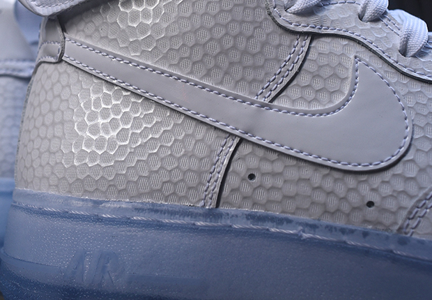 Nike Air Force 1 Inferior Azul EMNHaYINwg