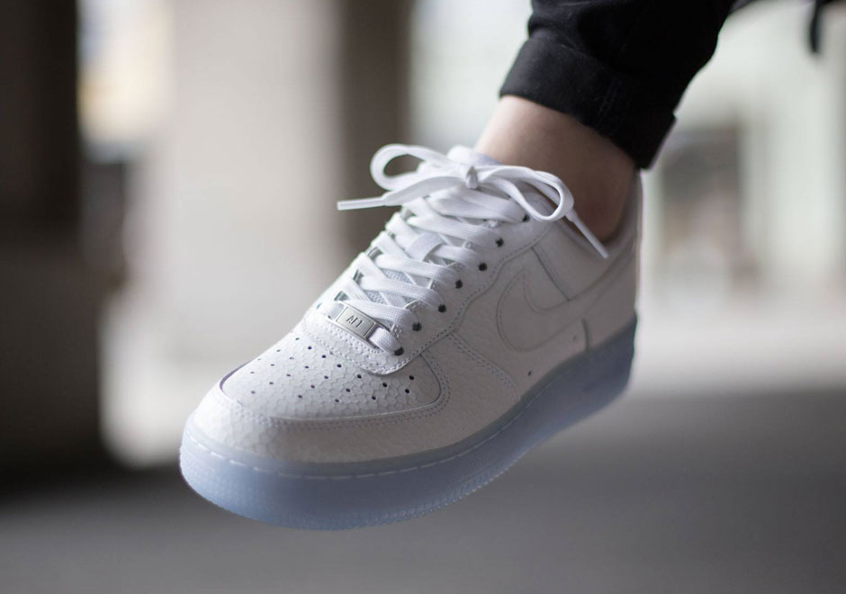 nike air force 1 low white icy sole shoe