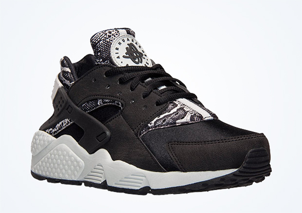 We all knew the day was coming, it was just a matter of when. Snakeskin has  hit the Nike Air Huarache in a sign of the times. The serpent skin graphic  and ...