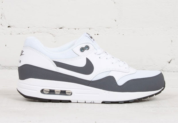 Essential Grey Tones Hit The Nike Air Max 1 - SneakerNews.com e7874bee5