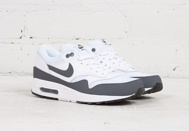 Essential Grey Tones Hit The Nike Air Max 1 - SneakerNews.com 582f9de88b76