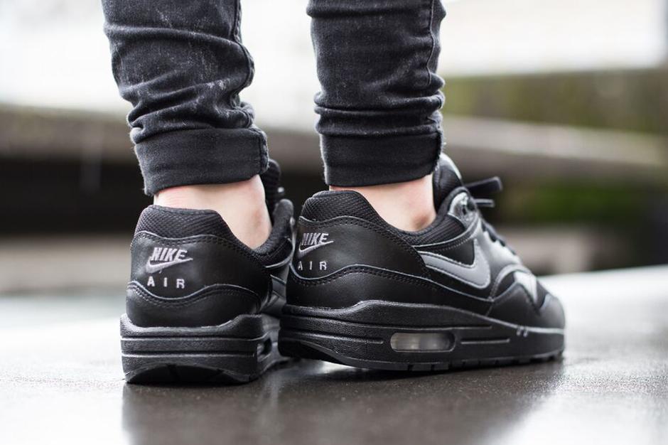 Nike Air Max 1 GS Black Cool Grey