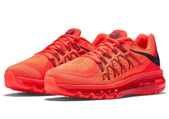 """Men And Women Can Celebrate """"Infrared"""" With This Upcoming Nike Air Max 2015"""