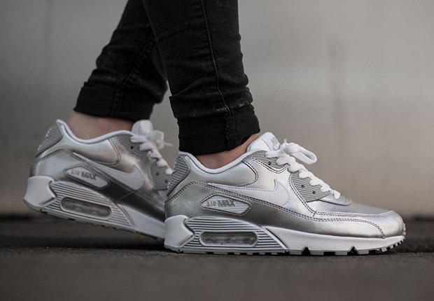caf7e0139dd1 Buy nike air max metallic silver   up to 56% Discounts
