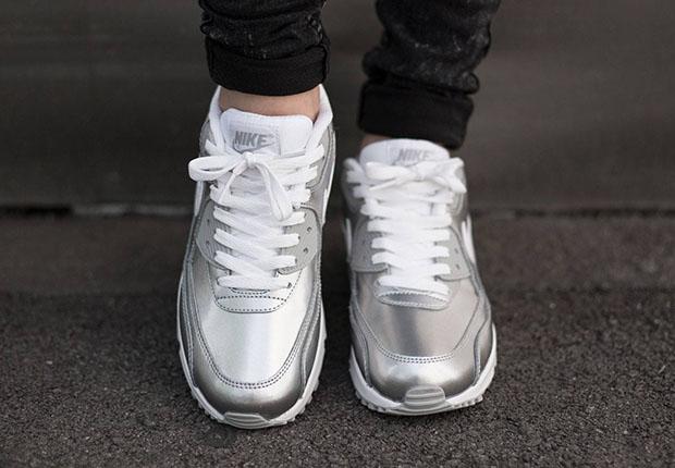 silver air max 90