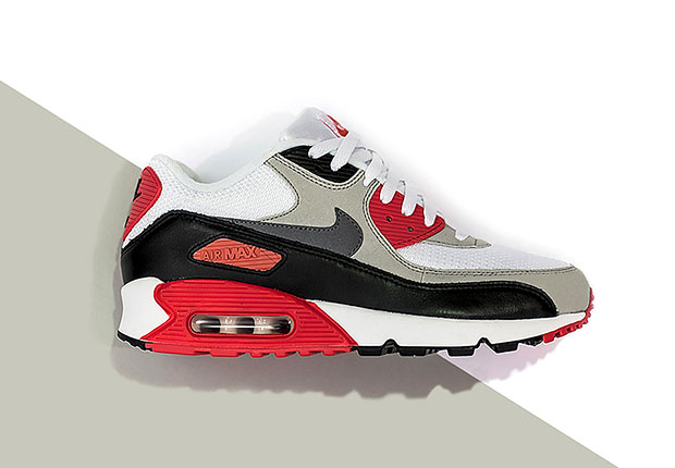 "bdc8d5f65351 You ve seen the cork and velvet versions of the Nike Air Max 90 ""Infrared"""