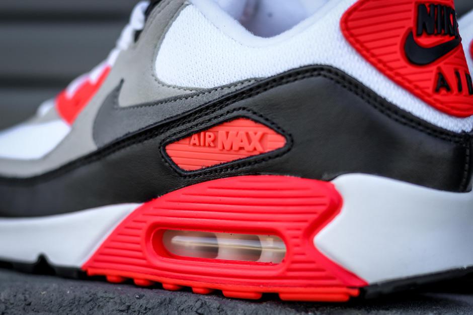Nike Air Max 90 Infrarød 2015 Handle pCDVSTwi