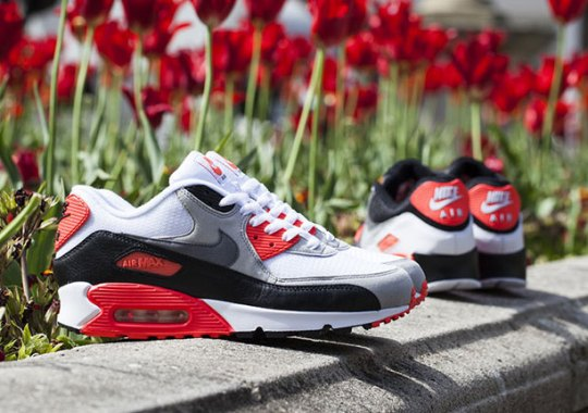 "Two Takes on the Nike Air Max 90 ""Infrared"" Release Tomorrow"