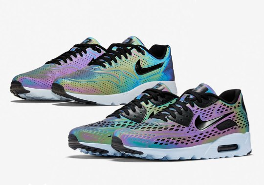 "The Nike Air Max Ultra ""Iridescent"" Pack Is Available Now"