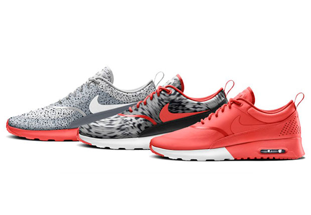 Ladies love the Nike Air Max Thea, thanks to its sleek, clean, and feminine  retro-inspired running silhouette. A major hit for the past couple of  years, ...