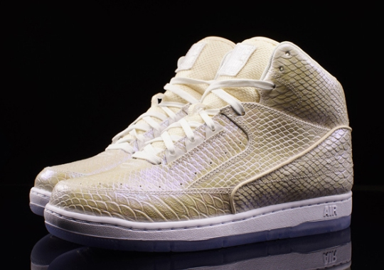 The Pearlescent Nike Air Pythons Are Available