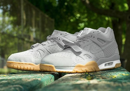 More Nike Air Trainer 3s With Suede Uppers And Gum Soles