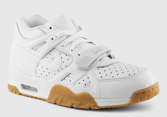 The White/Gum Nike Air Trainer 3 is Available Now