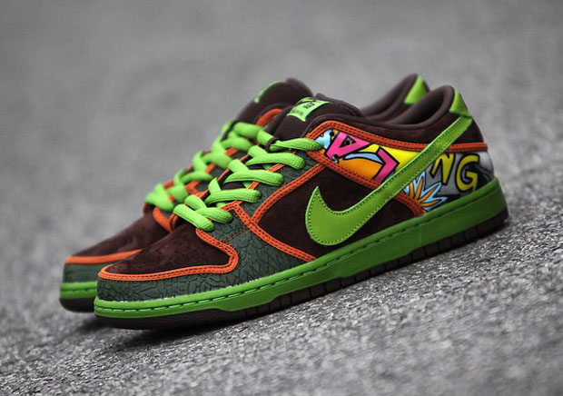 Nike Dunk Sb Basso La Soul De Schiacciate Bassi Gt7ESWl