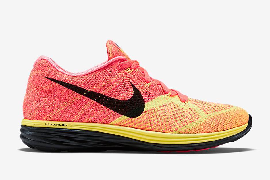 Nike Flyknit Lunar 3 – Hot Lava – Laser Orange – Black
