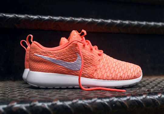 "There's a Flyknit Version Of The Roshe Run ""Hot Lava"""
