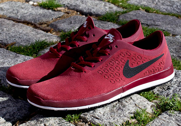 various design wholesale outlet fresh styles The Streamlined Nike Free SB Nano in Red Suede - SneakerNews.com