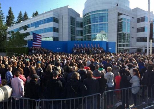 Watch President Obama Speak At Nike Headquarters Live