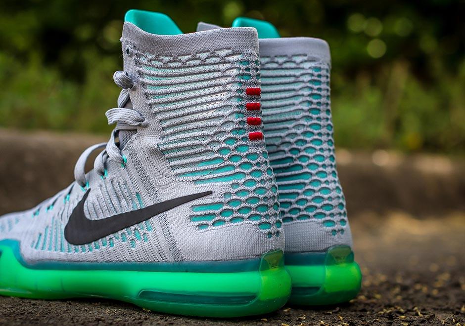 "ad5e6a5bd429 Nike Kobe 10 Elite ""Elevate"" Color  Wolf Grey White-Light Retro Style Code   718763-041. Release Date  05 15 15. Price   225"