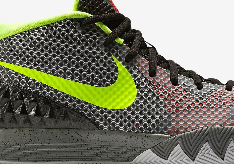 Nike Kyrie 1 Black White Grey