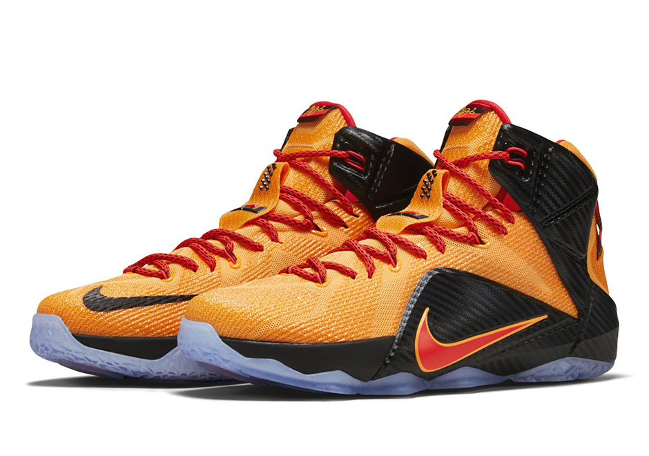 "Nike LeBron 12 ""Cleveland"" Arrives in Time for NBA Finals ..."