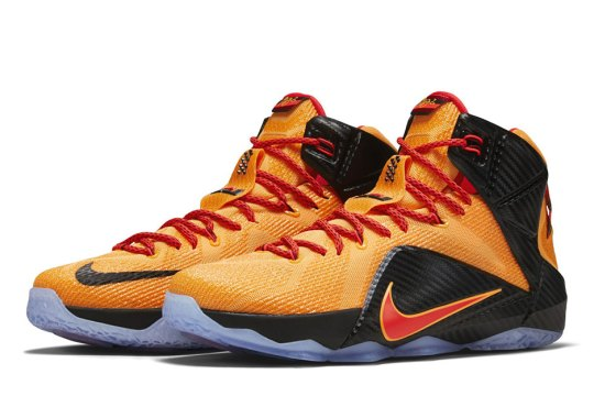 "Nike LeBron 12 ""Cleveland"" Arrives in Time for NBA Finals"