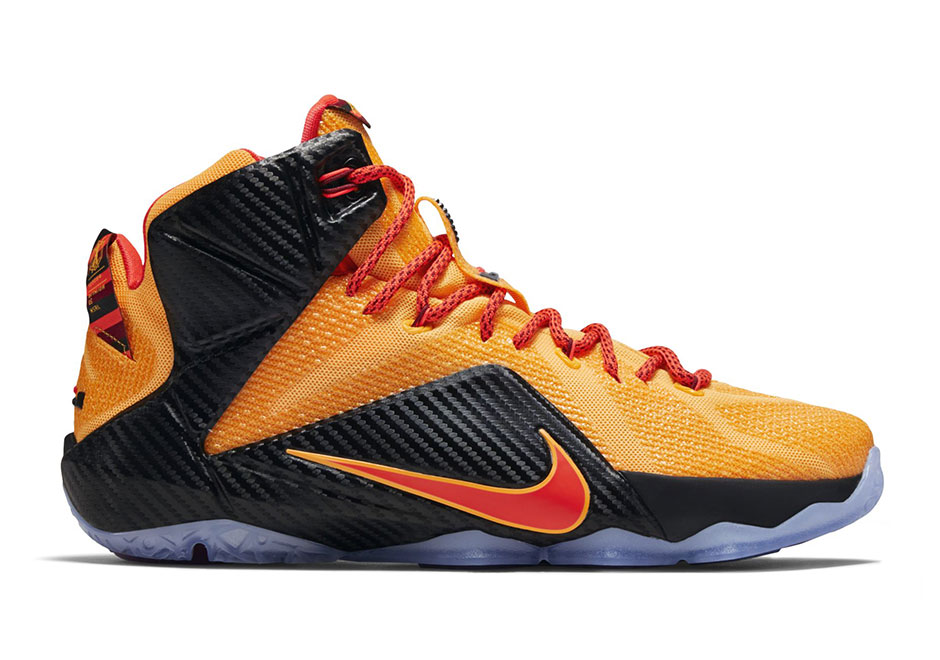 "new product 7942d f1fc3 Nike LeBron 12 ""Cleveland"" Arrives in Time for NBA Finals - SneakerNews.com"