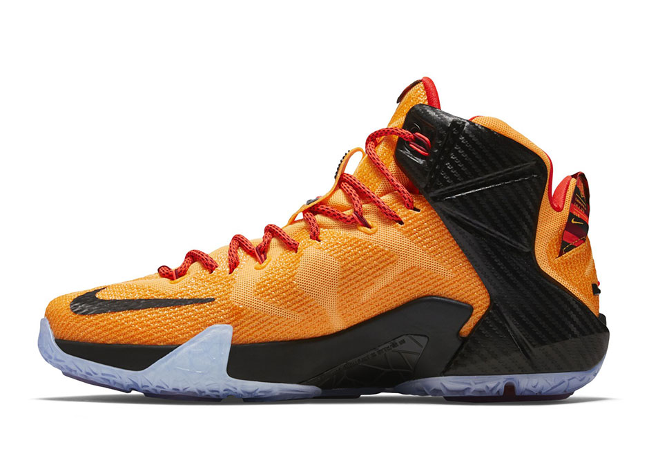 """8769bf61f6f6 Nike LeBron 12 """"Cleveland"""" Arrives in Time for NBA Finals - SneakerNews.com"""