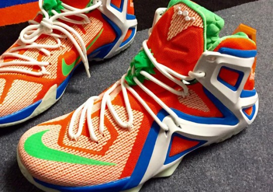 This Awesome Nike LeBron 12 Elite iD Proves That The WNBA Is Filled With Sneakerheads