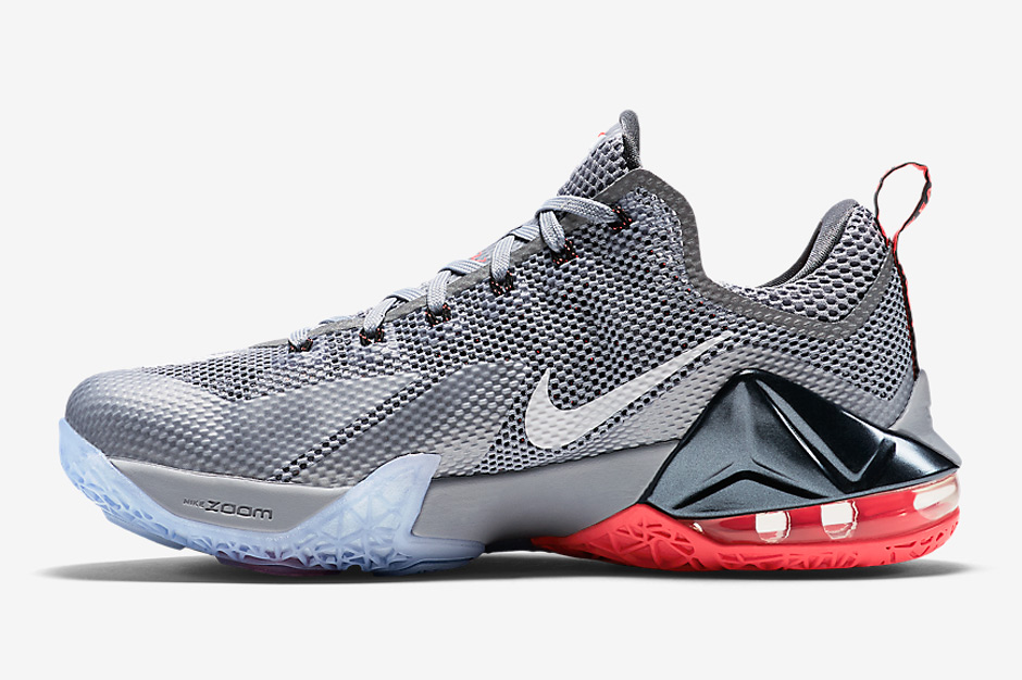 the best attitude 10f47 40964 ... store nike lebron 12 low wolf grey sneakernews 5cb27 fe731