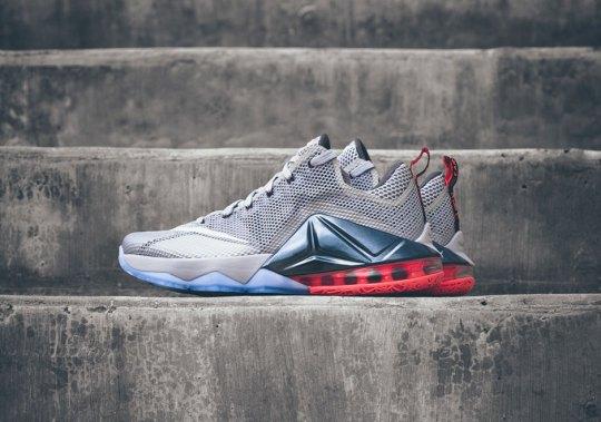 "Nike LeBron 12 Low ""Wolf Grey"" – Release Date"