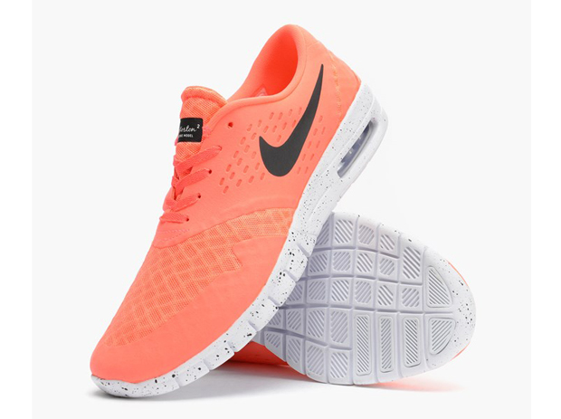 sale retailer 2fe30 d2f2d Nike SB Eric Koston 2 Max Color Hot LavaBlack-White Style Code 631047-801