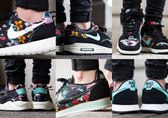 """the latest 78b50 cce1b Nike Dunk High Skinny. A Detailed Look at the Nike Sportswear """"Aloha"""" Pack"""
