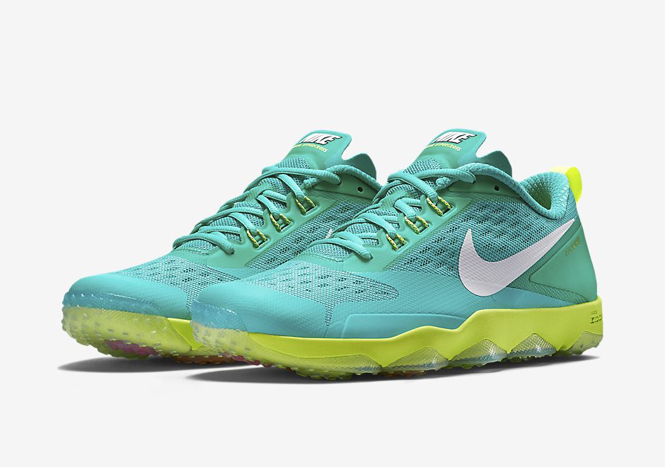 7f980eeac281 Nike Hypercross Trainer in Teal and Volt - SneakerNews.com