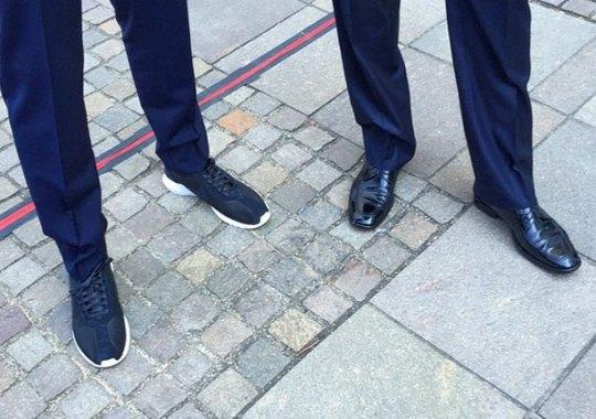 Mark Parker In Nike Roshes During President Obama Visit