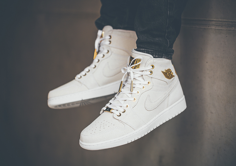 Jordan 1 Pinnacle On Feet