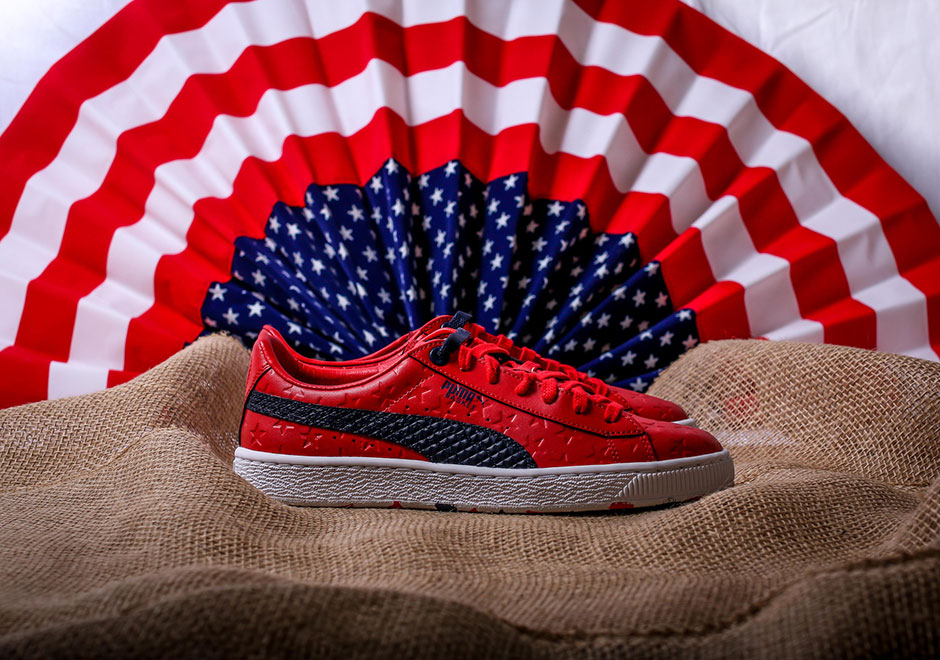 puma basket independence day