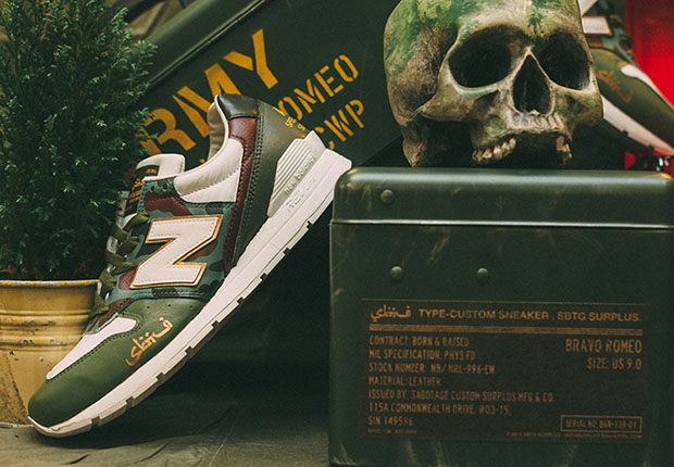 SBTG Creates Custom New Balances Inspired By A National Military Tradition  free shipping 6fd088d2c172