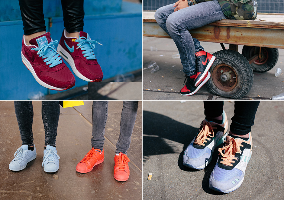 An On-Feet Look at Sneakerness May 2015 Event in Amsterdam