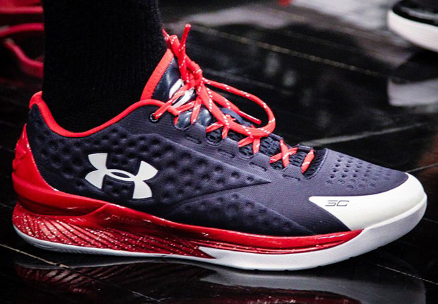Another Under Armour Athlete Debuts The Curry One Low