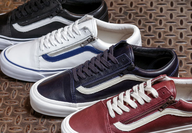 32fb697c500d You ll Never Have To Unlace The Vans Old Skool Zip LX