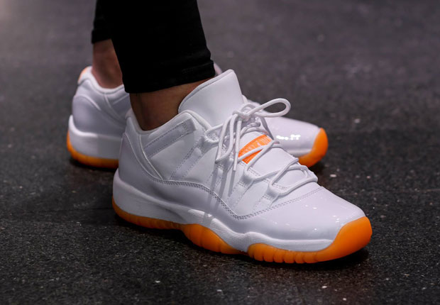 "Air Jordan 11 Low GS ""Citrus"" – Release Reminder"