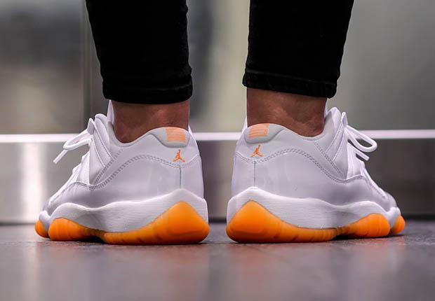 Nike Air Jordan 11 Xi Bajas Gs Cítricos 9TWFF