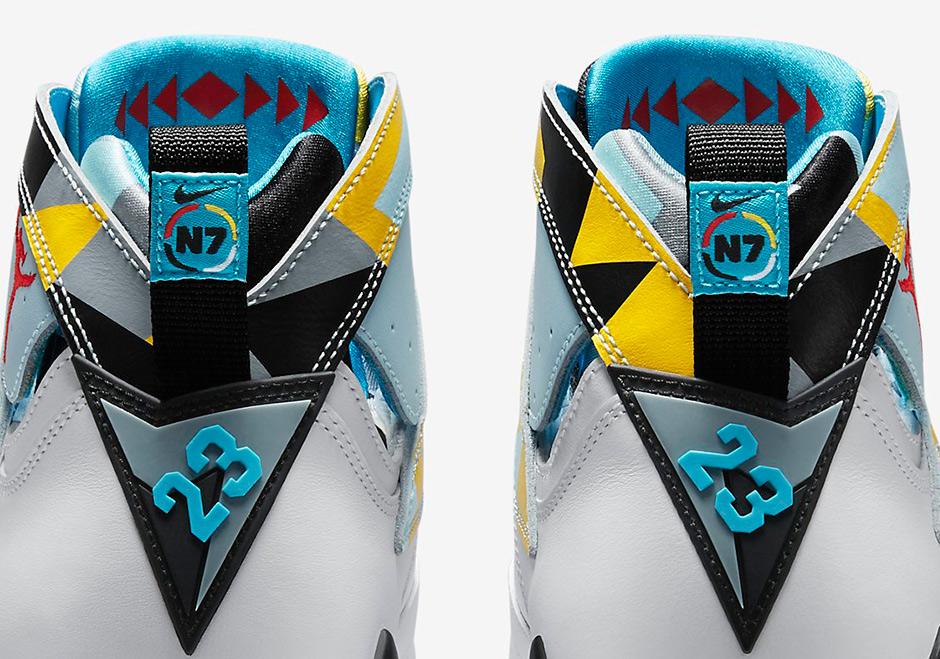 5f77fab8724 A Detailed Look At The Air Jordan 7 Retro N7 - SneakerNews.com