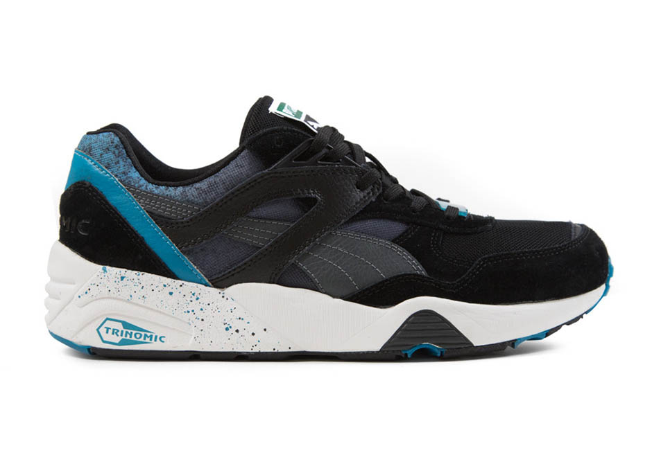 Puma-R698-Splatter-Black-blue