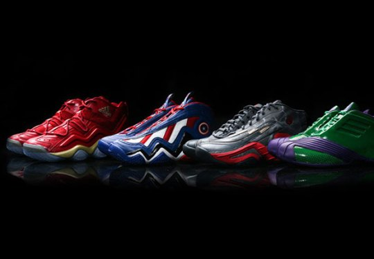 "Another Look at the adidas Retro Basketball ""Avengers"" Pack"