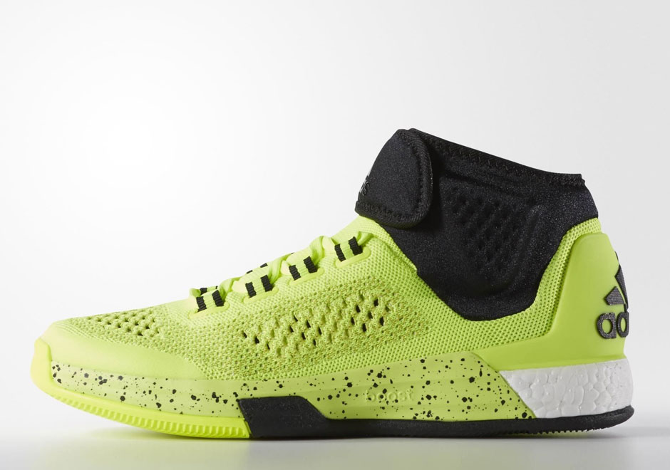 more photos 08984 487c9 ... new arrivals adidas crazylight boost 2015 solar yellow sneakernews  fa60f 637a8